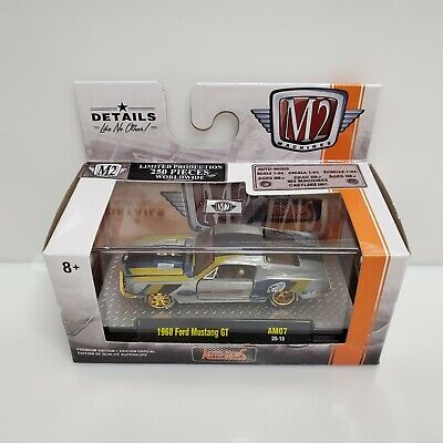 $159.99 • Buy Rare M2 Machines Auto-Mods 1968 Ford Mustang GT Raw Super Chase 1 Of 250