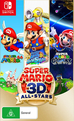 AU74.95 • Buy Super Mario 3D All-Stars Switch Game NEW