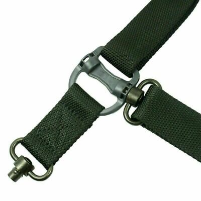 $ CDN19.13 • Buy Tactical Quick Detach 1 Or 2 Point Sling Bungee Rifle Shoulder Strap Outdoor