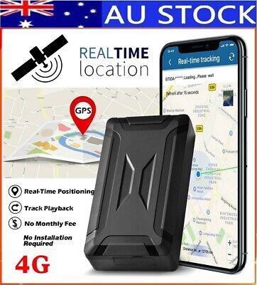 AU118.50 • Buy ✅AU STOCK 4G Magnetic Vehicle GPS Real Time Tracking Locator Smart Tracker Alarm