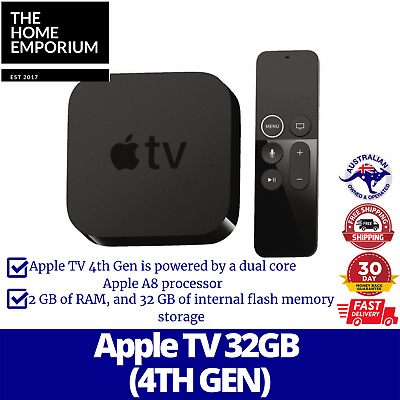 AU244.95 • Buy Brand New Apple TV - 4th Generation 32GB - Full High Definition Media Streamer