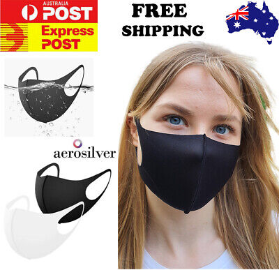 AU12.20 • Buy Premium Face Mask Made In KOREA Mouth Mask Washable Reusable Breathable