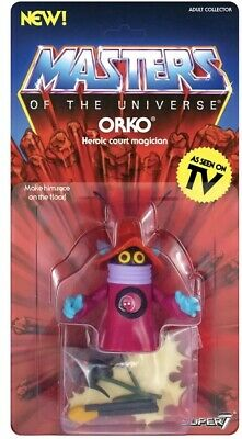 $44 • Buy Orko (Masters Of The Universe) Retro Figure Wave 3 By Super7
