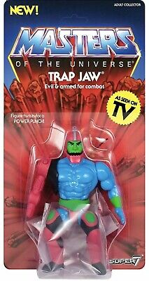 $44 • Buy Trap Jaw (Masters Of The Universe) Retro Figure Wave 3 By Super7