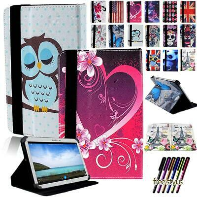 Folio Leather Stand Cover Case For 7  8  10.1  Samsung Galaxy Tab A Tablet • 5.99£