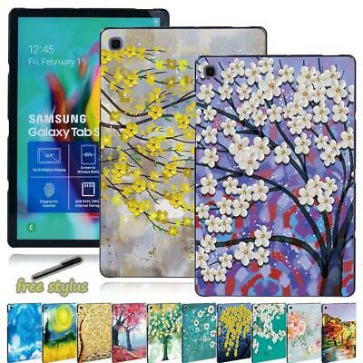 Slim Painting Tablet Cover Case For Samsung Galaxy Tab A A6 7  10 /Tab E S5E • 4.99£