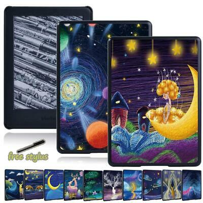 For Amazon Kindle 8th 10th Paperwhite 1/2/3/4 - Slim Painting Tablet Cover Case • 4.99£