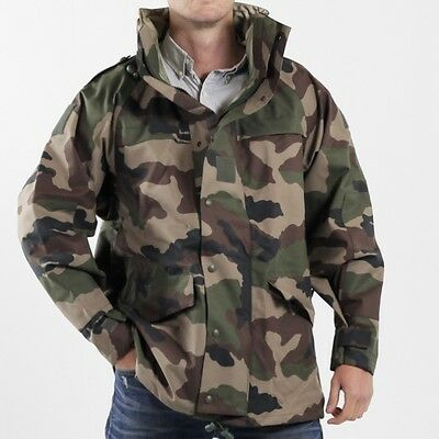 £44.99 • Buy Grade 1 French Mvp Jacket Waterproof Parka Xs S M L Xl Military Cce Camouflage