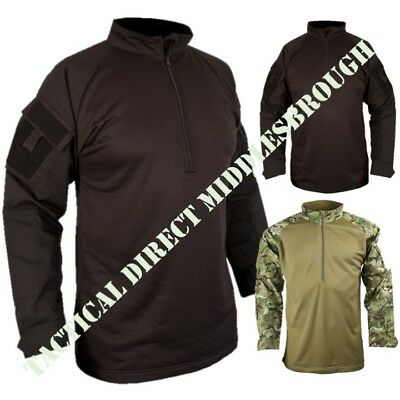 British Army Style Ubac Tactical Fleece Shirt Mens S-2xl Mtp Btp Camo Airsoft • 29.95£