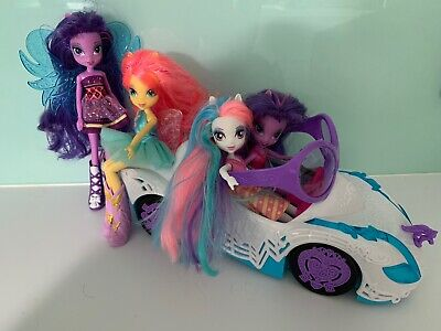 My Little Pony Equestria Girls  With Fairy Wings And With Car Bundle • 20£