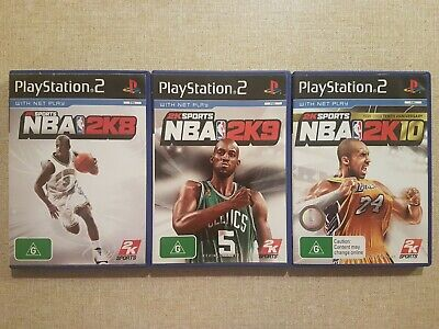 AU32.95 • Buy NBA 2K8, 2K9 & 2K10 (Sony PlayStation 2, 2007-09) Ps2 AUS PAL
