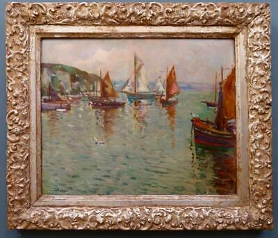 William Todd-Brown ROI (1875-1952) IMPRESSIONIST SIGNED Oil Painting ST IVES • 340£