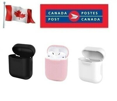 $ CDN4.69 • Buy Silicone Cover For Apple Airpods 1 Or 2 Case Skin Sleeve Airpod Charging Protect