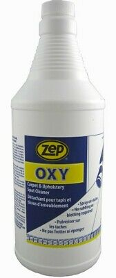 £20.52 • Buy Zep Oxy Carpet And Upholstery Spot Cleaner 1qt Jug