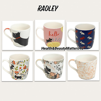 Radley London Bone China Mugs Christmas Gift Boxed New Choose Design • 19.99£