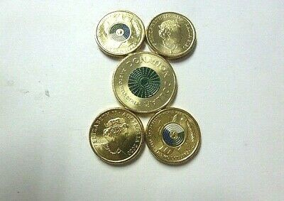 AU38.50 • Buy 2020 Coins $2.00 End Of WW2, 4 Coins (+$1 Donation Coin) 5 Coins Unc