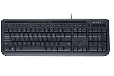 AU42.06 • Buy Microsoft ANB-00025, Wired Keyboard 600, QWERTY, USB 2.0, Spill Resistant, Multi