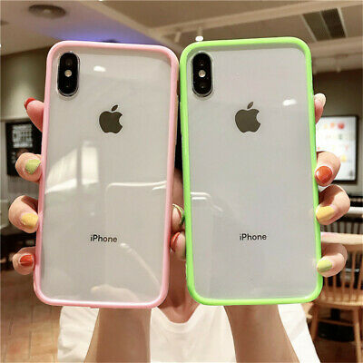 AU8.99 • Buy For IPhone 11 Pro Max XS XR X 7 8 Plus Shockproof Slim Bumper Case Clear Cover