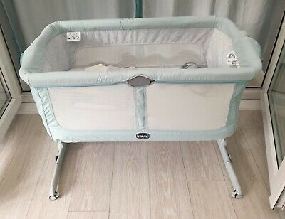 Next2me Crib Dream Chicco Baby Co Sleeping Cot Bedside Next To Me • 70£