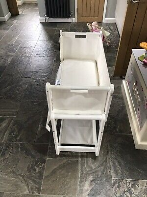 SnuzPod 2 Next To Me Bedside Cot - White - Good Condition • 80£