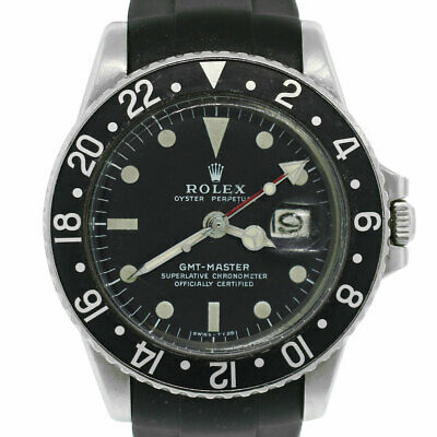 $ CDN26362.94 • Buy Rolex 1675 GMT Stainless Steel Rubber Band Watch