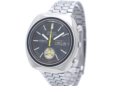 $ CDN794.87 • Buy Seiko 5 Sports 6139-8000 Speed Timer Overhaul Vintage Automatic Auth Mens Watch