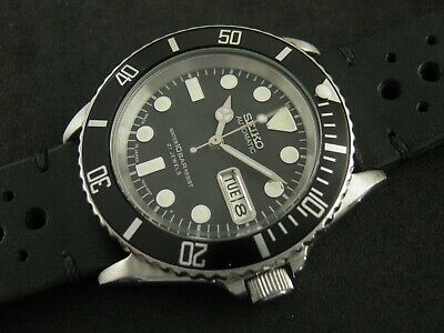 $ CDN385.46 • Buy SEIKO SKX031 Mod Submariner NH36 Hack Winding Water Proof Tested Working