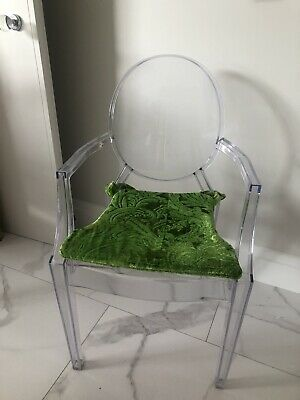 Designers  Guild  Chair Pads X 6 Green And Pink • 40£