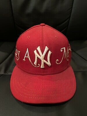$ CDN759.42 • Buy Supreme By Any Means Red New Era Fitted Cap Hat 7 3/8 Rare
