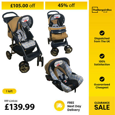 Graco Sterling Pushchair - Travel System-Town Country  • 139.99£