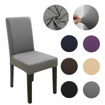 AU9.65 • Buy Fabric Chair Cover For Dining Room Chairs Covers High Back Living Room Chairs