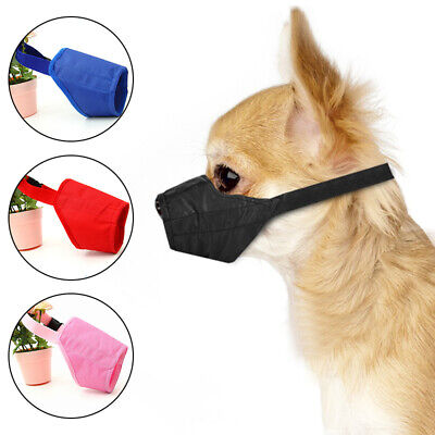 £1.99 • Buy Anti Bark Dog Muzzle For Small Large Dogs Adjustable Pet Safety Mouth Muzzles