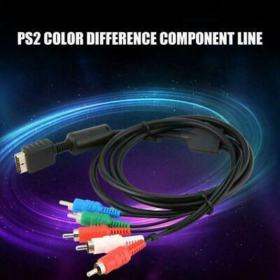 HD Component RCA AV Video-Audio Cable Cord For Playstation 3 New 2 PS3 PS2 M3B2 • 4.59£