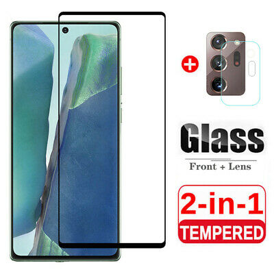 $ CDN5.59 • Buy For Samsung Galaxy Note 20 Ultra 10 Lite Tempered Glass Screen + Lens Protector