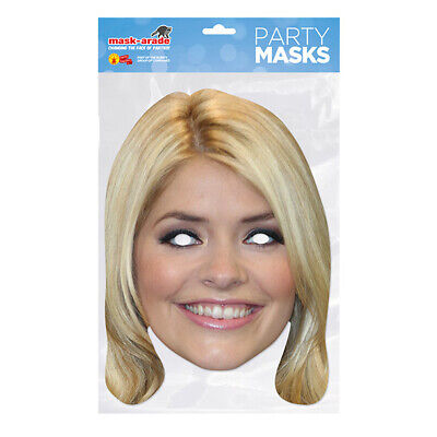 Holly Willoughby Celebrity  PARTY MASKS MASK FUNNY STAG CARDBOARD FACE  • 2.99£
