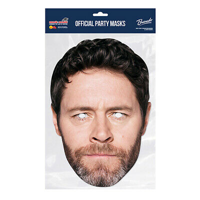 Howard Donald Take That Celebrity  PARTY MASKS MASK FUNNY STAG CARDBOARD FACE  • 2.99£