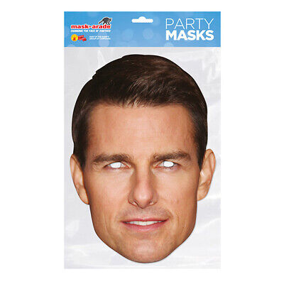 Tom Cruise CELEBRITY PARTY MASKS MASK FUNNY STAG CARDBOARD FACE  • 2.99£