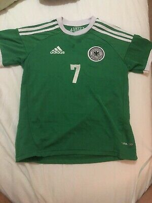 Germany SCWEINSTEIGER EURO 2012 AWAY Football Shirt World Cup SMALL MEN GREEN • 17.50£