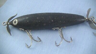 $ CDN26.60 • Buy Paw Paw Aristocrat Shiner Lure Black With Flitter NICE ONE !!!!!!