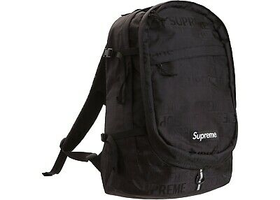 $ CDN387.87 • Buy NEW Supreme Backpack SS19 Black FREE Shipping