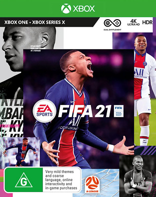 AU56.95 • Buy FIFA 21 Xbox Series X, Xbox One Game NEW