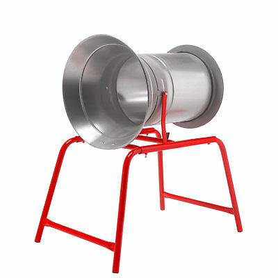 34cm Christmas Tree Netting Machine Funnel Netter Galvanised With Red Legs NEW • 202.99£