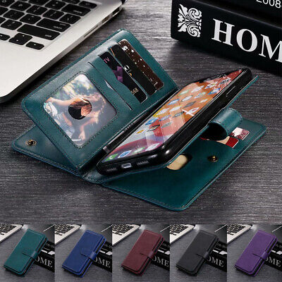 AU17.99 • Buy For Samsung Note20 S21 / S20 Ultra FE S10 S9 Plus Case Leather Wallet Flip Cover