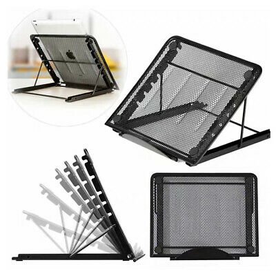 AU18.99 • Buy Metal Ventilated Adjustable Laptop Stand Mount For Tablet IPad Notebook Laptop