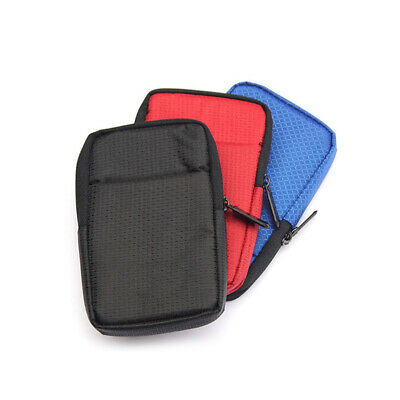 Portable Storage Pouch Bag For 2.5  HDD SSD USB Hard Drive Disk Carry Case Cover • 3.20£