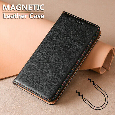 $ CDN7.97 • Buy For Samsung Galaxy S20 Ultra S10 Lite S9 S8 Plus Magnetic PU Leather Wallet Case
