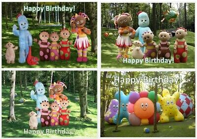 Personalised Pictures Bunting / Birthday Party Decoration / In The Night Garden • 1£