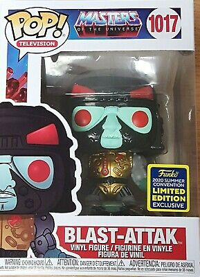 $44.99 • Buy Funko POP! Masters Of The Universe Blast-Attack SDCC Shared MINT W Protector