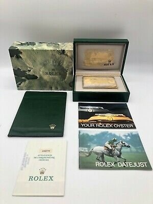 $ CDN147.63 • Buy Rolex Genuine Datejust 68273 Watch Box Case 68.00.2 Garantie Booklet.. 0529004