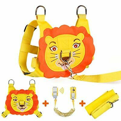 Toddler Reins For Walking Lion, 2 In 1 Kids Safety Harness + Anti-Lost Strap • 22.99£